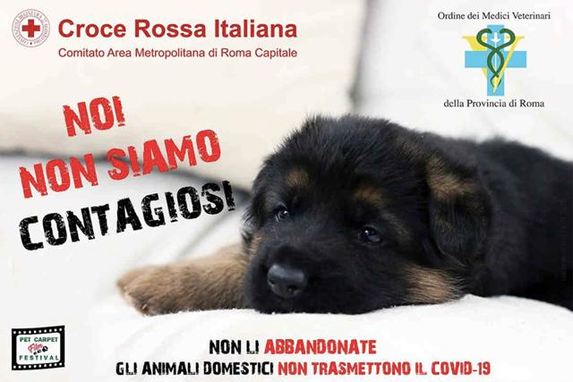 Noi non siamo contagiosi: campagna Croce Rossa Italiana Covid-19