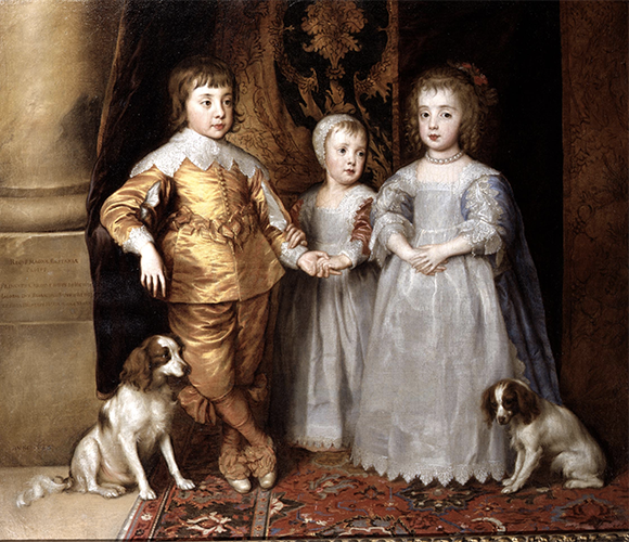 I figli di Carlo I Antoon Van Dyck